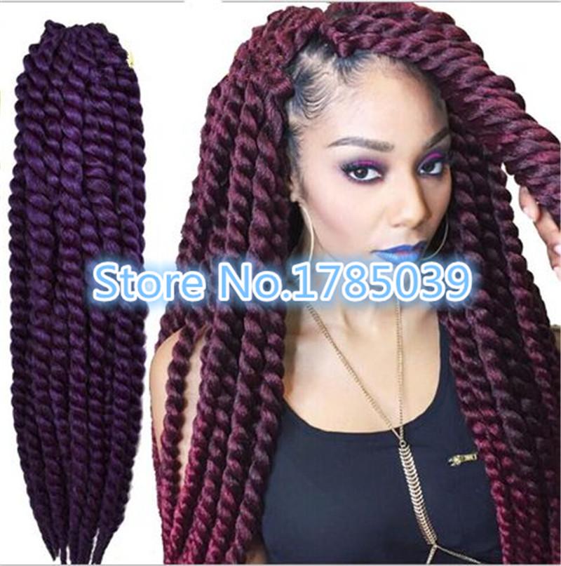 4packs havana twist synthetic havana hair havana mambo twist crochet braids<br><br>Aliexpress