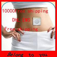 EMS DHL Free Shipping help sleep lose weight slimming Patch lose weight fat Navel Stick Burning Fat Magnets of lazy paste