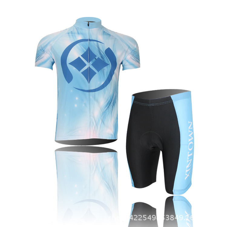 Cycling Wear Short-sleeved Male Droplets Sport Cothing Fast Drying Wicking Breathable Wear Outdoor Bike Bicycle Jersey Set<br><br>Aliexpress