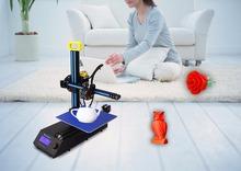 New Arrival Portable DIY Impresora 3D Printer Kit Mini Prusa i3 Rapid Prototyping 3D Printer