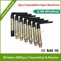DHL EMS Free Shipping Super WDMX wireless DMX512 system wireless dmx transmitter DJ lighting kit wireless