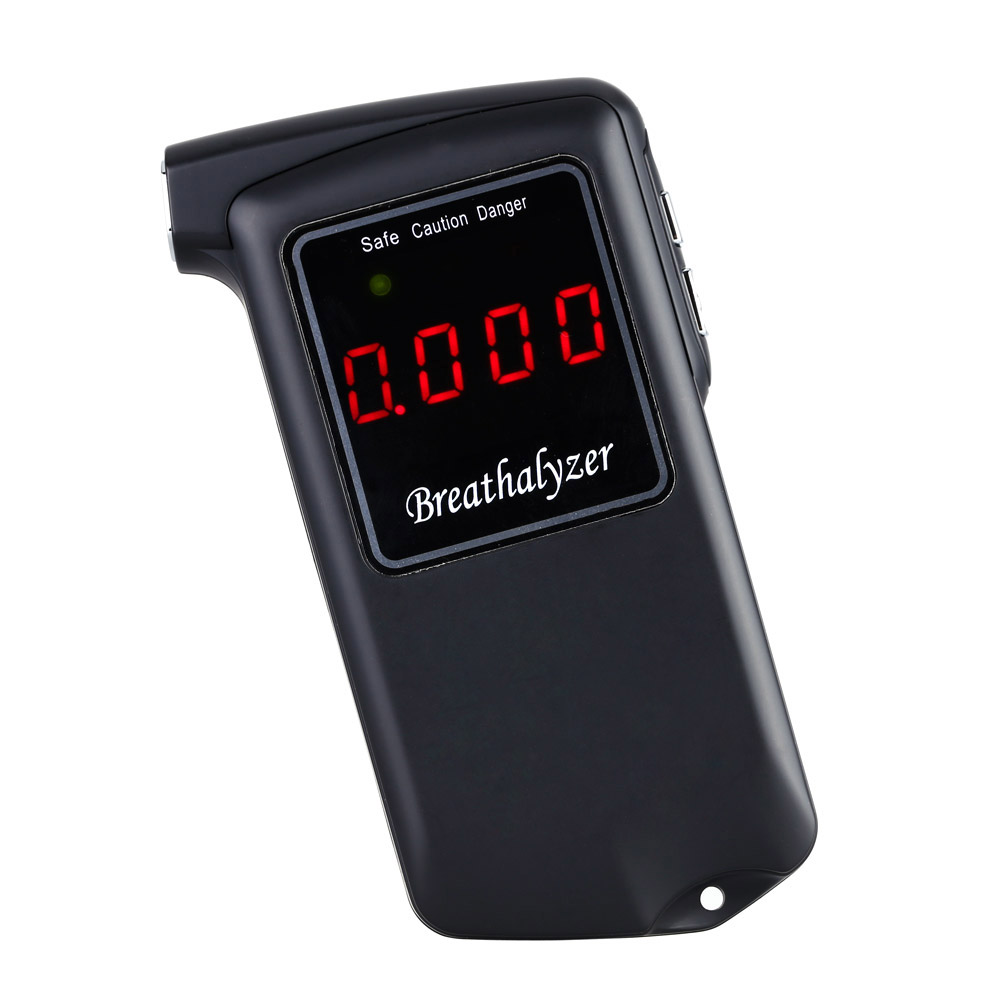 New Prefessional Digital Breath Alcohol Tester LCD Breathalyzer Parking Detector Gadget with Backlight Driving Essentials AT-858(China (Mainland))