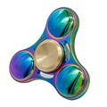 Handspinner Toy Triangular Fidget Hand Spinner Metal Copper Material Finger Spinners For Autism Stress Wheel Figet