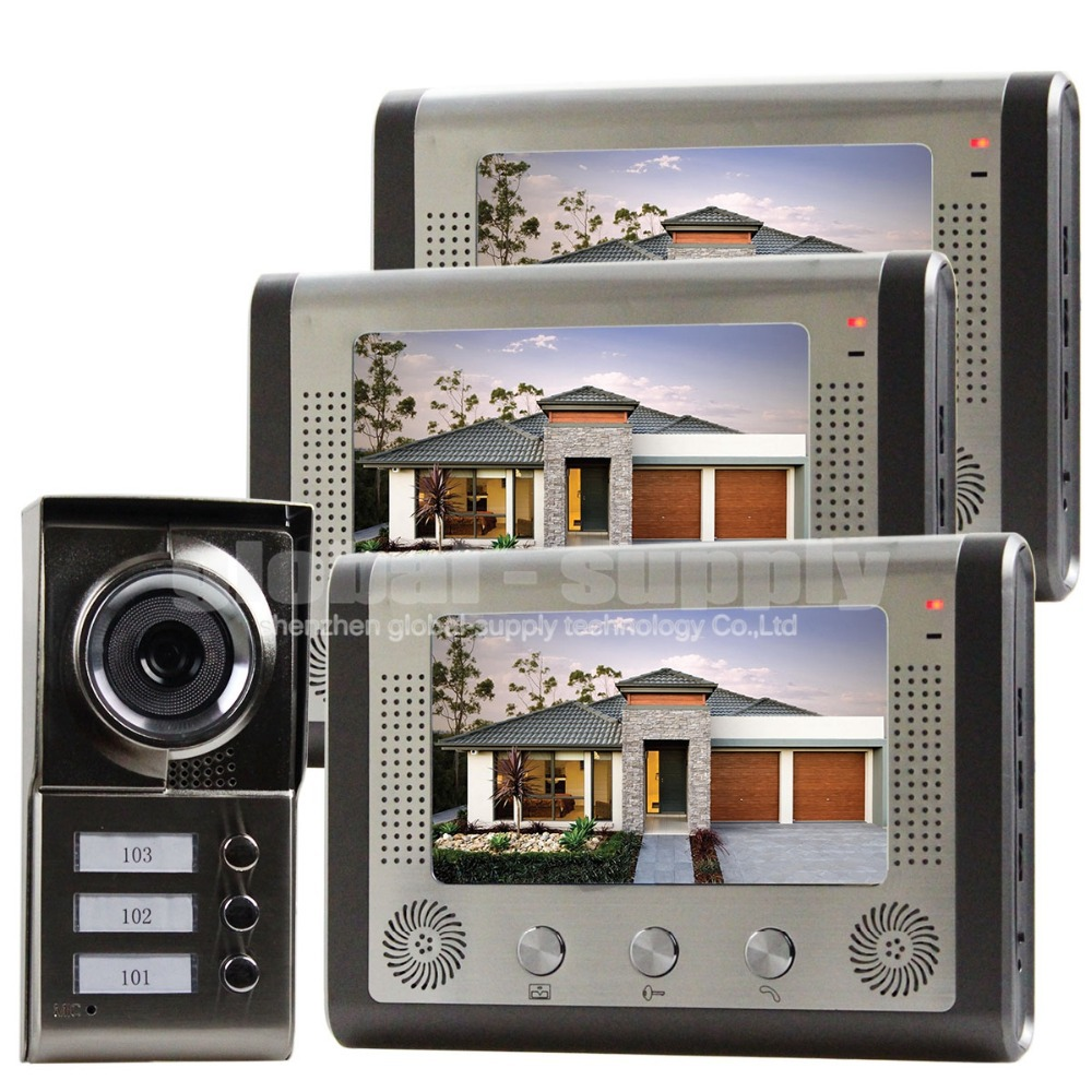 Buy waterproof new 7 inch video door for Door video camera