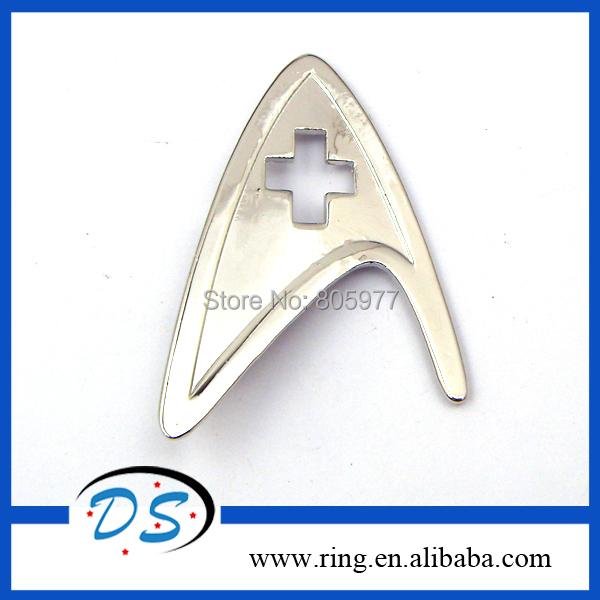 New Statement Jewelry Star Trek Starfleet Division Badge Star Trek Brooch 100pcs/lot Free Shipping<br><br>Aliexpress