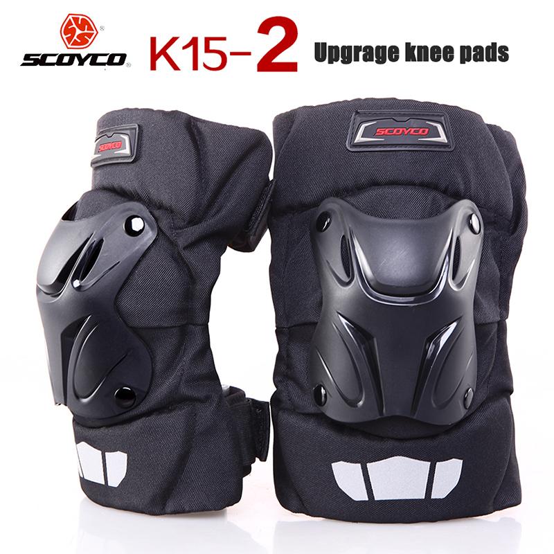 Upgrade Generation II Scoyco Motorcycle Knee pads Motocross Bike Bicycle Pads Racing ATV Off Road Knee Pads Protective Guards(China (Mainland))