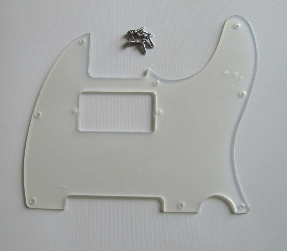 Transparent TL Humbucker Guitar Pickguard Clear Scratch Plate(China (Mainland))