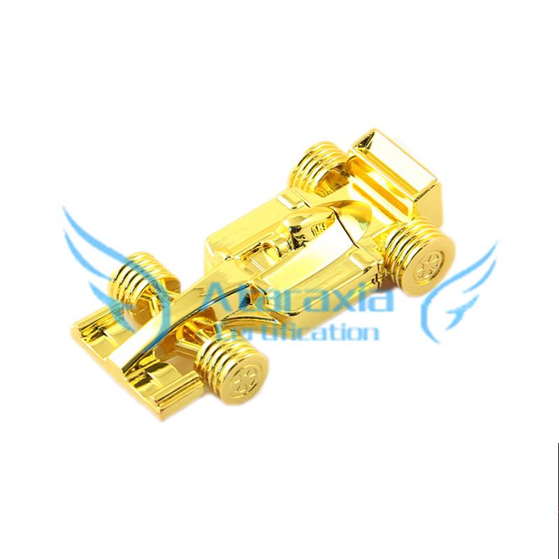 free shipping u disk 16gb Pen Drive Metal F1 race car PenDrive gift 4gb 8gb USB Flash memory 32gb 64gb USB Flash Drive(China (Mainland))