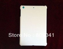 For ipad mini 1/2/3 3D sublimation blanks DIY sublimation case for ipad mini 2 free shipping 50pcs/lot(China (Mainland))