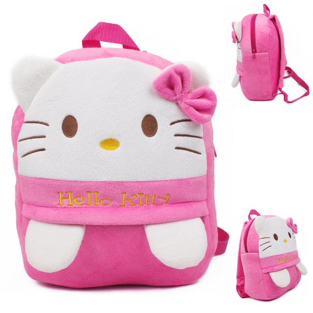 Новое поступление милые киски плюшевые мультфильм рюкзак девушка характер мешок подарок для детей в возрасте 3 - 5 Mochila Infantil горячая распродажа