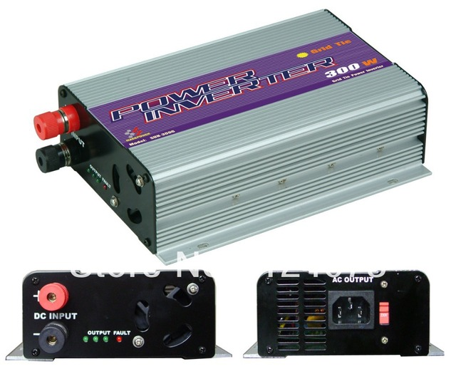 Free shipping,300W Grid Tie Inverter,power inverter,solar inverter (SUN-300G),MPPT Function,Wholesale with coupon