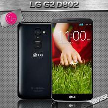 Original Unlocked LG G2 D802 Cell Phones 2GB 32GB 13MP Quad core 5.2 inch Refurbished Phone Russian Multi-language Mobile Phone