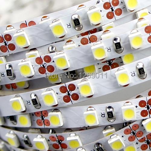 One meter Super Slim 5mm width LED Strip Light with 120 LEDs White Color 12VDC for super slim lightbox(China (Mainland))