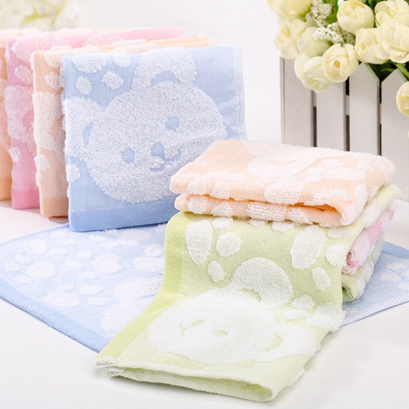 100% Cotton 0-3 Baby Towel Square Hand Towels Newborn Cotton Candy Bibs Baby Stuff Moms Care Baby Care Products(China (Mainland))