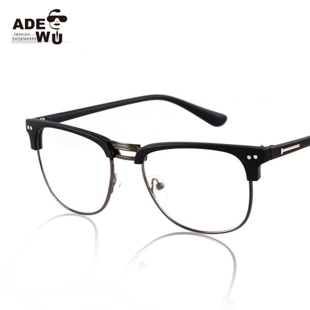 Rimless Geek Glasses : Ray Ban White Frame