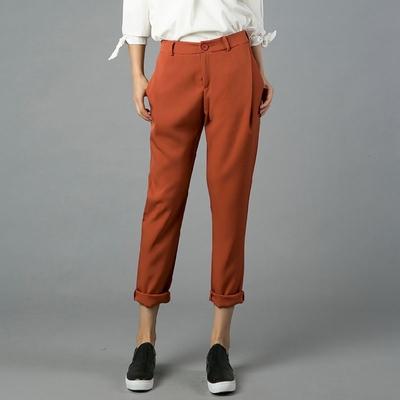 2016 Capris Fashion Women Harem Pants OL Business Casual Pencil Pants Trousers Women's Black Pants A190(China (Mainland))