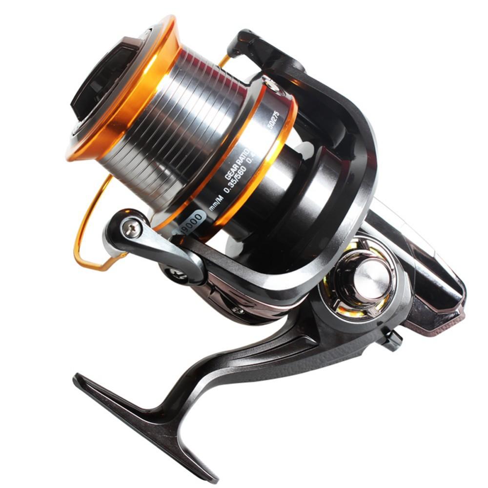 Spinning fishing reel high speed big freshwater saltwater for Top fishing reels