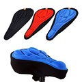 Free Shipping Cycling Bike 3D Comfortable Silicone Gel Pad Seat Saddle Cover Soft Cushion H1E1
