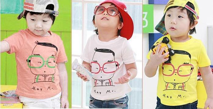 Wholesale baby kids children boy clothing 100 cotton T shirt T shirts(China (Mainland))