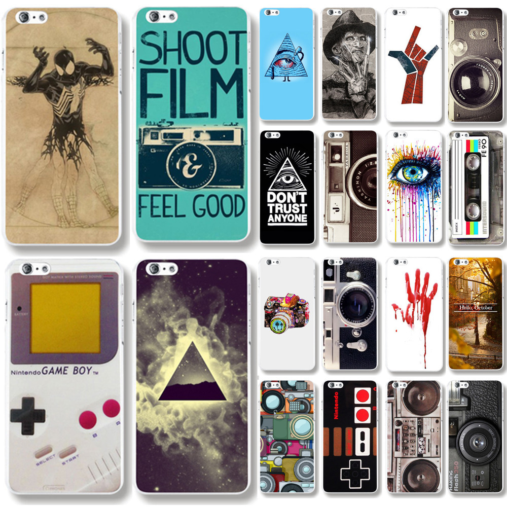 Skin Cover for iphone 6 Plus 5 5 Human skeleton Pattern PC font b Mobile b