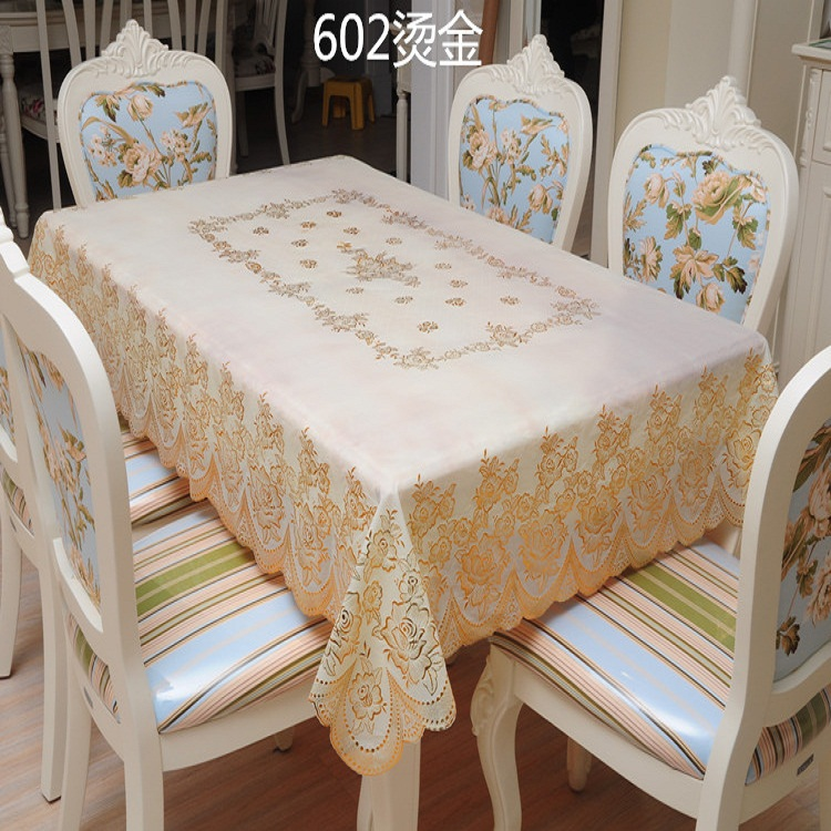 2015 Hot Sell 1pc Home Oil Waterproof High Temperature Resistant Pvc Table Linen Tablecloth(China (Mainland))