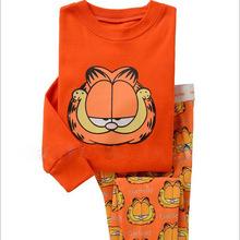 Buy 2015 New Design Suits Boys Garfield Pajamas Baby Cartoon Pijamas Pyjamas Children's Clothing sets Kids Printed Sleepwears for $38.49 in AliExpress store