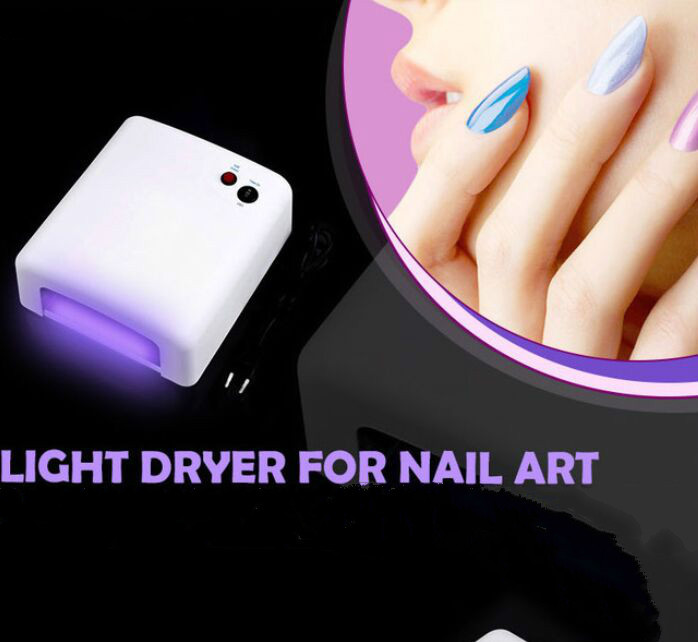 High Quality led nail lamp 36w 220V nail uv light dryer led lamp manicure Professional uv gel lamp nail polish Light Dryer(China (Mainland))