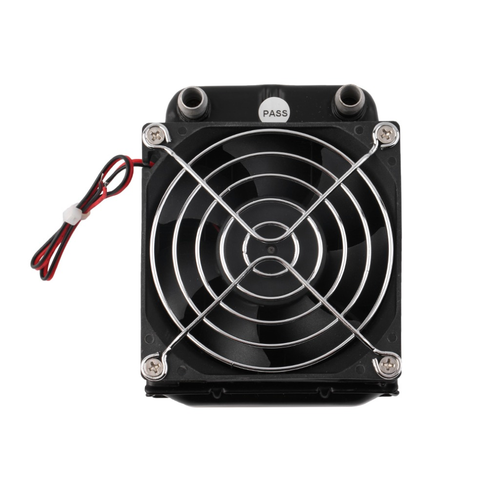 Aluminum 80mm Water Cooling cooled Row Heat Exchanger Radiator+Fan for CPU PC Super Deals(China (Mainland))