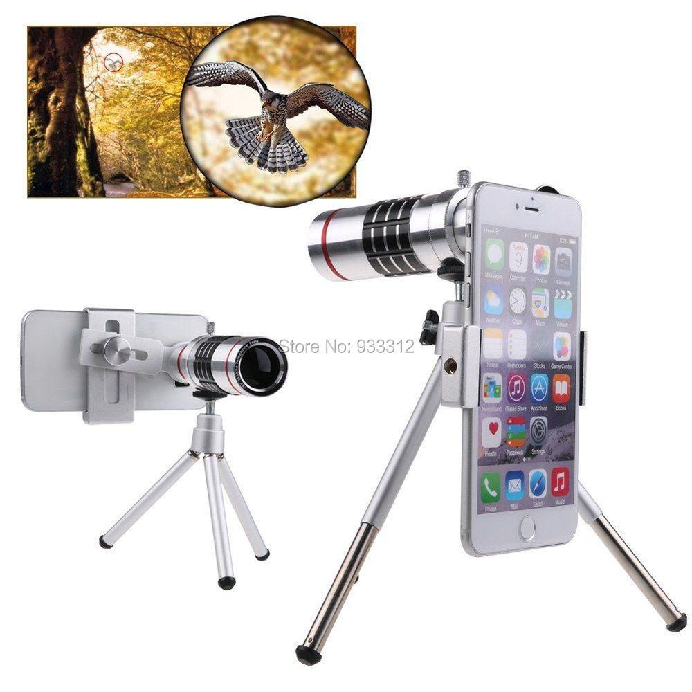 18x Optical Zoom Telescope Camera Photo lens+Aluminum Tripod For HTC ONE M9/M9 PLUS/M8/M7/M6/For LG G4 G3 G2/For LG L70/L80/L90(China (Mainland))