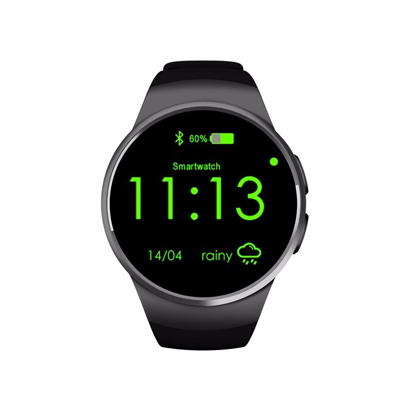 2016 Newest Smart Watch KW18 Sport Heart Rate IPS Screen bluetooth smartwatch Fitness Tracke For IOS Android