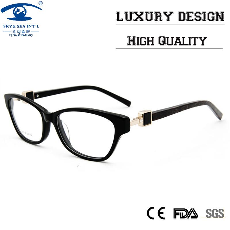 high quality custom butterfly eyeglass frames with
