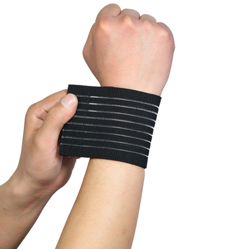Bandage Bracer High Elasticity Wrist Support for Gym Sport Basketball/Tennis/Badminton Carpal Hand Protector Wrist Nylon Brace(China (Mainland))