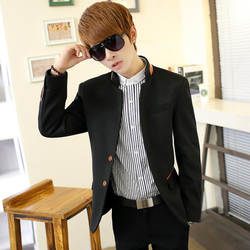 Blazer Coat Mens Men School Blazer Jacket