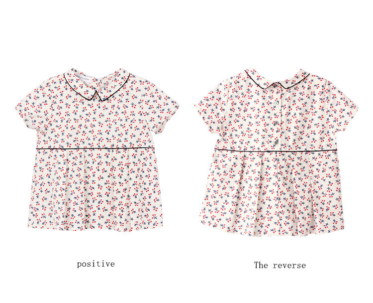 floral blouse for girl