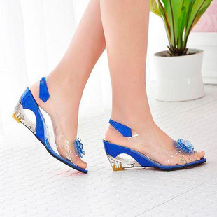 2015 Real Tenis Feminino Ion Of Spring And Autumn New High-heeled Shoes Clearance Code Women Rome Shoe Wedges Fish Mouth Sandals(China (Mainland))