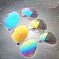 Newest Fashion Safety Vintage Sunglasses men women Brand Designer Sun Glasses Classic Men Flight Eyewear Mirrors