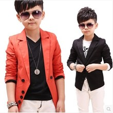 2016 Hot Sale children's spring casual suits boys jackets wholesale Korean style long sleeve blazers, CL04007