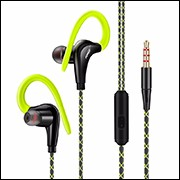 Earphones Glow in the Dark Luminous Headsets Metal Zipper with Microphone 3.5mm In Ear Lighted Earbud for Iphone Android Xiaomi