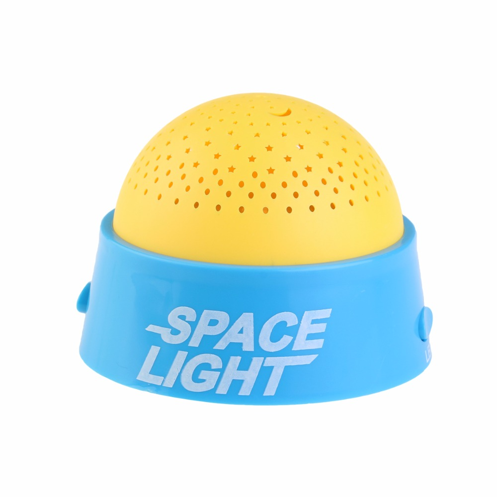 Led Night Light Baby Kid Sleep Light Creative Starry Sky LED Projector Night Light With Music Good Gift Starry Star Master Gift(China (Mainland))