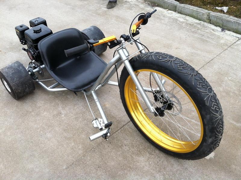 Drift trike с мотором своими руками 335