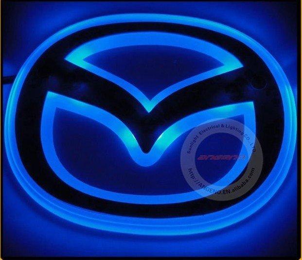 Fashion LED badge light for Mazda3 Mazda5