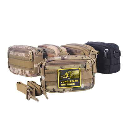Jungle mini one shoulder casual tactical messenger bag casual outdoor Camouflage messenger bag(China (Mainland))