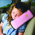 kid pillow car sleep accessory safety belt protect shoulder pad adjust vehicle seat cushion neck protection