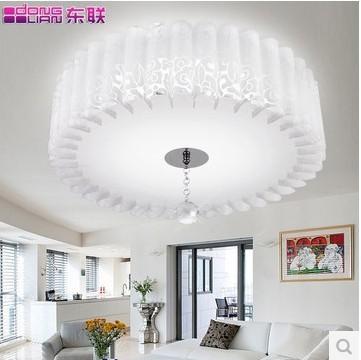 Double ring light fixtures modern minimalist living room bedroom hallway terrace restaurant led eye Crystal Ceiling(China (Mainland))
