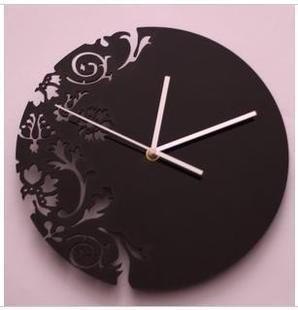 033145 Wall Clock Safe Modern Design Digital Vintage Large