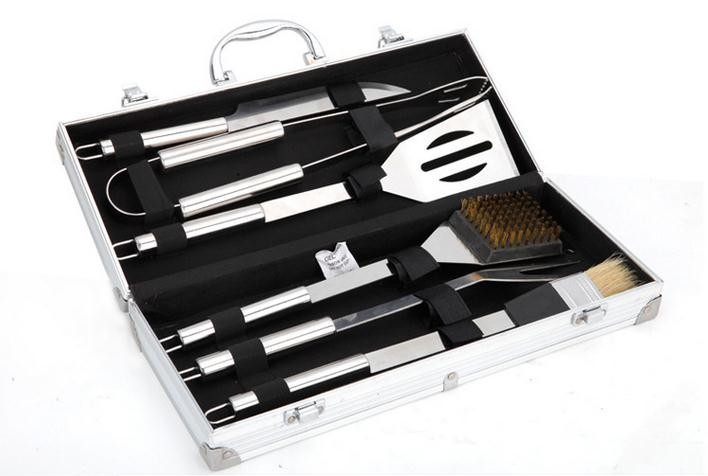 Buy Wnnideo Barbecue Tools Set - Stainless Steel BBQ Grilling Tools Set With Deluxe Case cheap