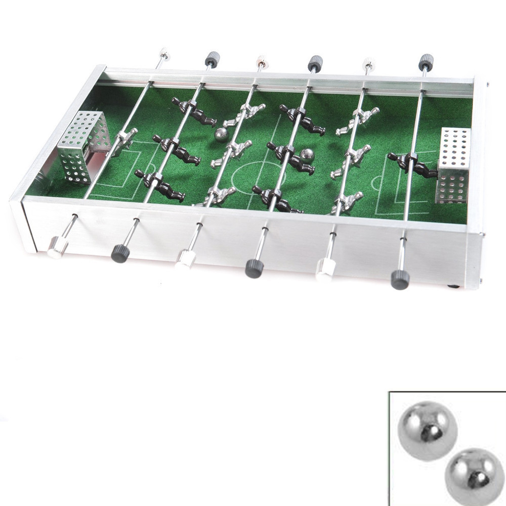 Aluminium mini soccer football table games for chirld toy for Table games for adults