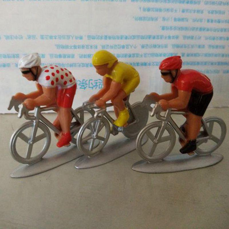 1/43 car model Tour de France cycling athletes scene Decoration Toys figures 3PCS/SET(China (Mainland))