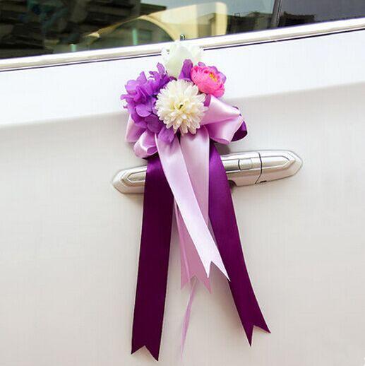 Wedding decoration on car wedding car decoration supplies for Aana decoration wedding accessories