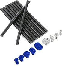 10 Pack of Glue Stick – Plastic & Aluminum Glue Tabs Set- PDR Tools Dent Repair Paintless Dent Repair